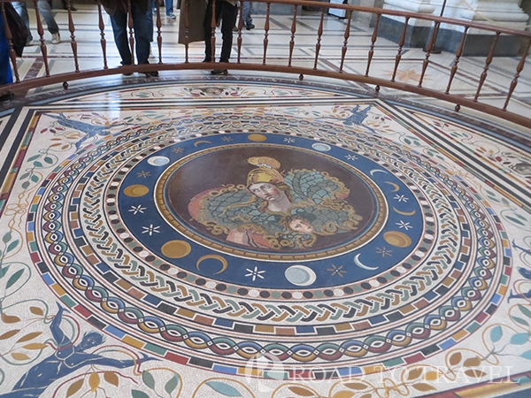 Vatican Museum mosaics The vatican Museum has a beautiful collection of mosaics that were collected from Ancient Roman palaces.