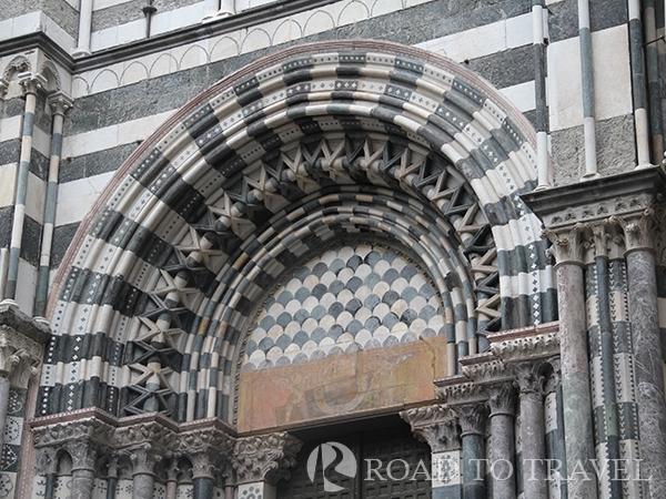 Genoa Palace Doria Tursi Detail of Palazzo Dori Tursi in Genoa.