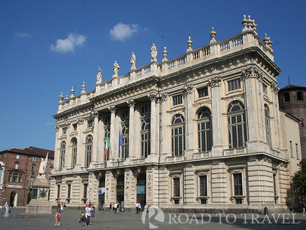 Palazzo Madama - Turin Palazzo Madama is one of the top monuments of Turin and Piedmont. Located inside Piazza Castello<br/> nearby Palazzo Reale it was the first Senate of the Italian kindom. It houses Turin's Art Civic Museum.