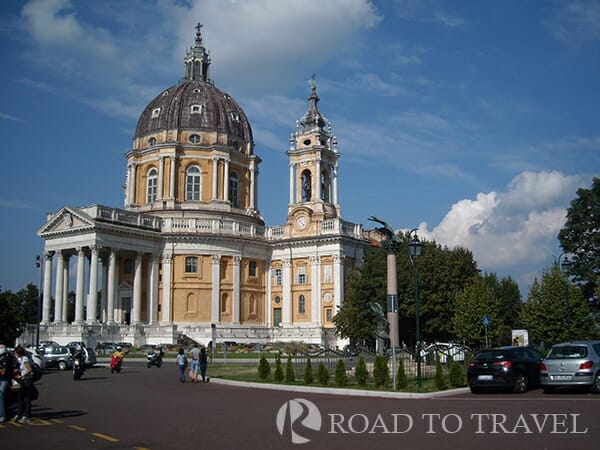 Basilica Superga - Turin The Basilica of Superga, also known as the Royal Basilica, is located on the hill east of Turin.<br/> It was built by King Vittorio Amedeo II as a thanksgiving to the Virgin Mary, after defeating the French who were besieging <br/>Turin in 1706. The basilica, overlooks the city of Turin, from there you can enjoy one of the most beautiful<br/> views of the Piedmont.