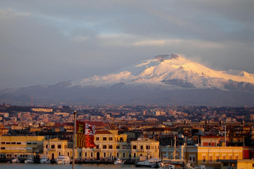 Private tours of Sicily Catania