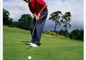 Playing Golf in great Italian Weather