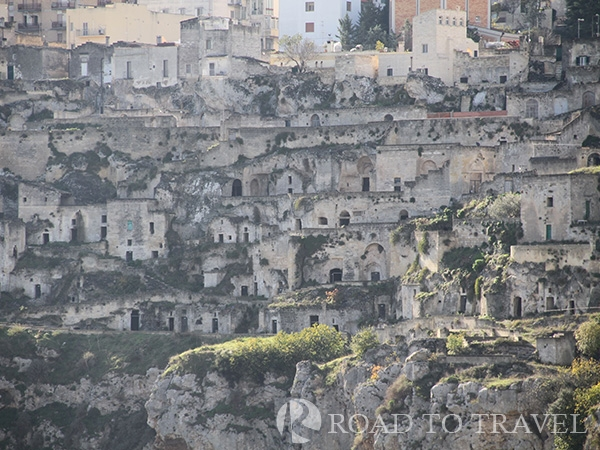 Matera - UNESCO World Heritage Some of the original cave dwellings of Sassi in this section is now mostly abandoned and owned by<br/> the Italian government . All these unique dwellings are protected under UNESCO World Heritage as<br/> preservation of past lifestyles.in