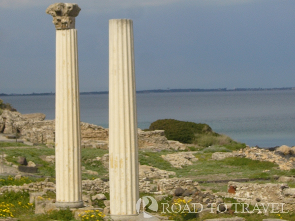 Tharros - Oristano Ruins of the Phoenician town of Tharros