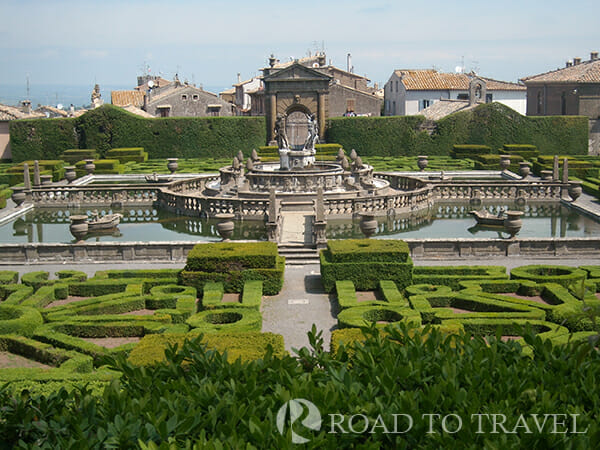 Bagnaia - Giardini Villa Lante View of the romantic gardens