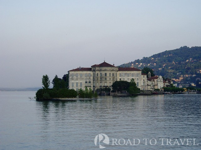 Isola Bella on Maggiore Lake Isola Bella is famous for its Palace and for a beautiful garden.